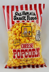 Popcorn California Snack Foods