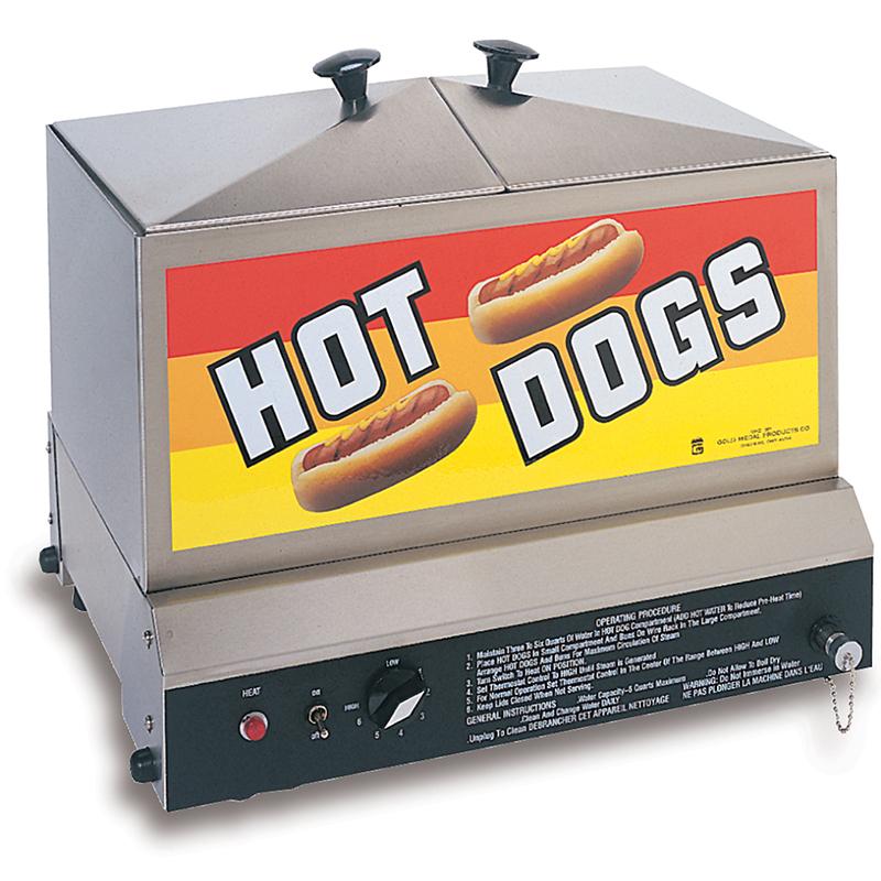 Steamin' Demon Hotdog Machine